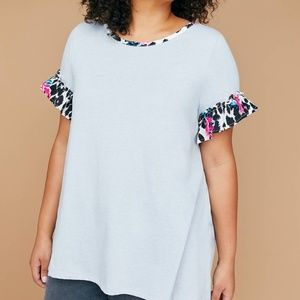 ** 5 FOR $25 Lane Bryant Fast Lane Mixed Fabric